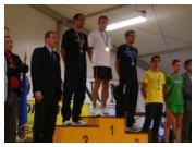 Il podio maschile del Campionato Italiano Assoluto