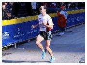 New York City Marathon 2010 - Filippo Lo Piccolo in prossimità dell'arrivo (Foto di Roberto Mandelli - Podisti.net)