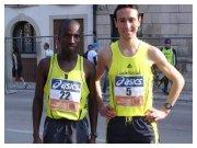 Treviso Marathon 2010 - Filippo Lo Piccolo e Hillary Kiprono Bii