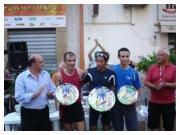 Corri per le vie di Borgetto 2010 - Podio con Migidio Bourifa, Francesco Duca e Filippo Lo Piccolo