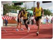 San Giovanni Lupatoto 25-09-2010 Ora in pista - Solomon Rotich (1) parte per la sua frazione
