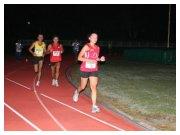 San Giovanni Lupatoto 25-09-2010 Ora in pista - Francesco Duca (1) in spinta all'esterno della prima corsia