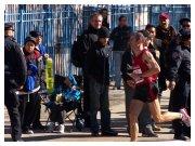 New York City Marathon 2010 - Francesco Duca nella parte finale della gara