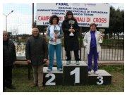 Lamezia Terme (CZ), 13 febbraio 2011 - C.d.S. regionale di cross - Podio cross femminile
