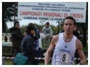 Lamezia Terme (CZ), 13 febbraio 2011 - C.d.S. regionale di cross - Filippo Lo Piccolo in azione nel cross lungo